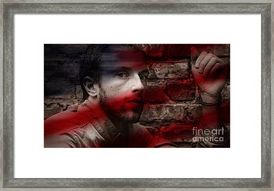 Coldplay Chris Martin Framed Print by Marvin Blaine
