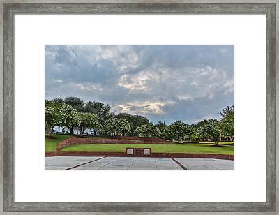 Cole Plaza Framed Print