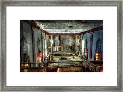 Cole Theater Framed Print