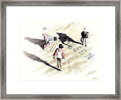 Coleen Framed Print by Brian D Meredith