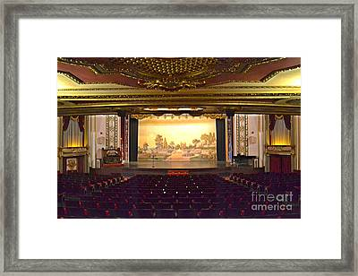 Framed Print featuring the photograph Coleman Theatre by Utopia Concepts