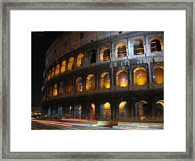 Coleseum Framed Print