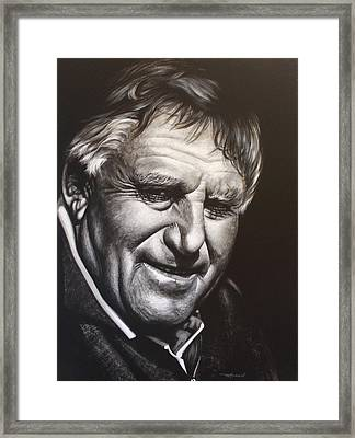 Colin Meads Framed Print by Bruce McLachlan