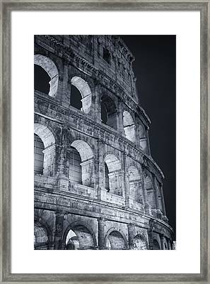 Colosseum Before Dawn Framed Print
