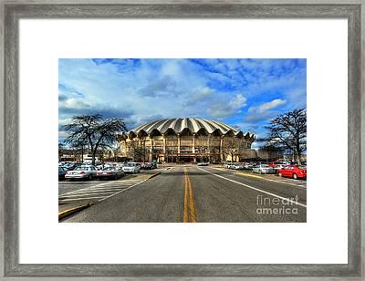 Coliseum Daylight Framed Print by Dan Friend