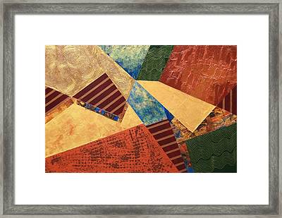 Framed Print featuring the painting Collaboration by Linda Bailey
