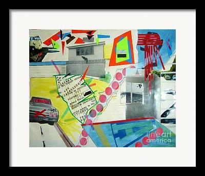Keywords Alienation Framed Prints