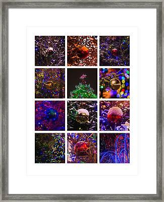 Collage December - Featured 2 Framed Print by Alexander Senin