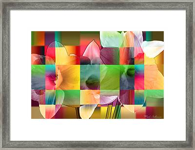 Collage For Sunny Day   Framed Print by Mark Ashkenazi
