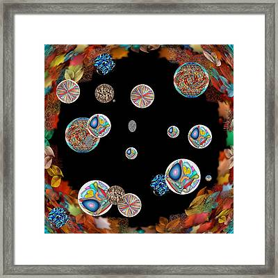Collage Framed Print by George Curington