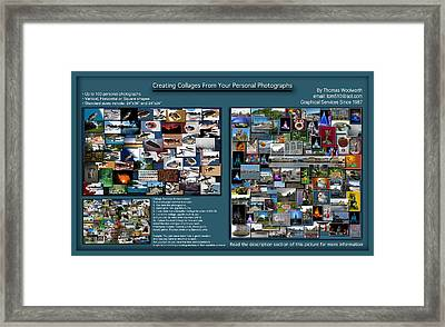 Collage Photography Services Framed Print by Thomas Woolworth