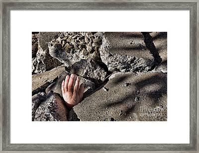 Collapse Framed Print by Olivier Le Queinec