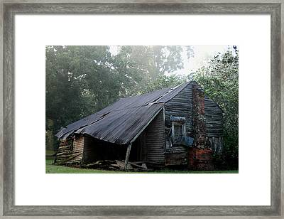 Collapsed Framed Print by Larry Primeaux
