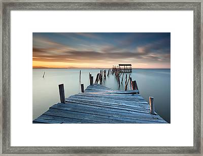 Collapsed Framed Print by Rui David