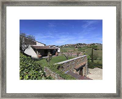 Colle Bereto Framed Print by Chris Selby