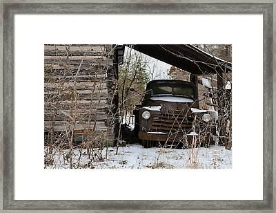 Collectible Rust Framed Print
