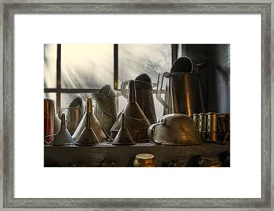 Collectibles Framed Print