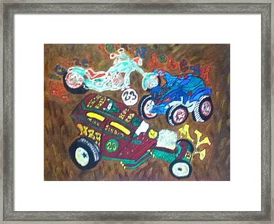 Collectibles Framed Print by Mj  Museum