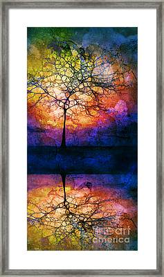 Collecting Colours For Tomorrow Framed Print by Tara Turner