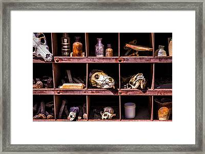 Collection At Techatticup Gold Mine Framed Print