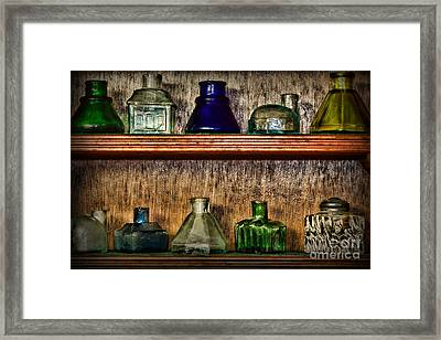 Collection - Ink Wells 1 Framed Print