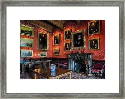 Collection Of Paintings Framed Print by Adrian Evans
