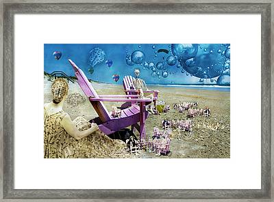 Collective Souls Framed Print by Betsy Knapp