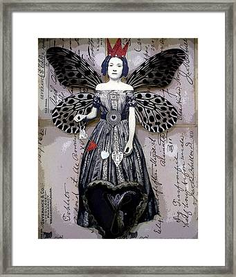 Collector Of Hearts Framed Print by Stephanie Rubiano