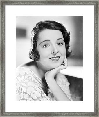 Colleen Moore Framed Print by Silver Screen