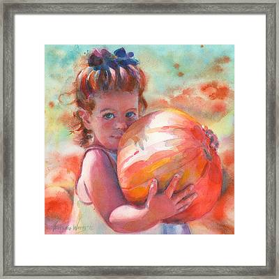Colleen Framed Print by Yevgenia Watts