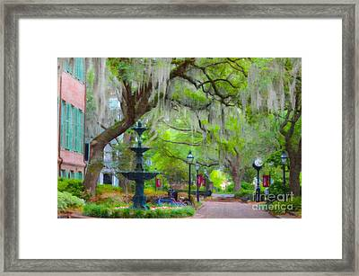 College Of Charleston Framed Print