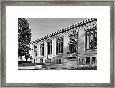 College Of Wooster Timken Science Library Framed Print by University Icons