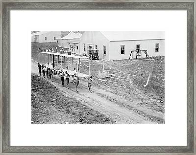 College Park Airfield Framed Print by Library Of Congress