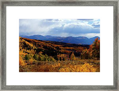 Collegiate Colors Framed Print by Jeremy Rhoades