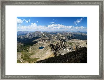 Collegiate Range Framed Print by Kevin Buffington