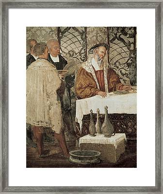 Colleoni, Bartolomeo 1400-1475. Italian Framed Print by Everett