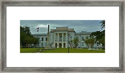 Colleton County Courthouse Framed Print by Bob Sample