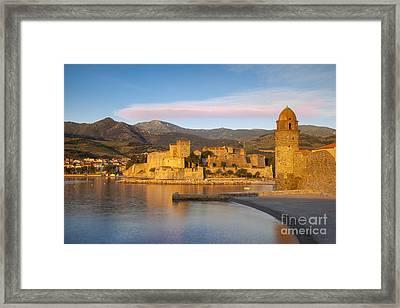 Collioure Dawn Framed Print