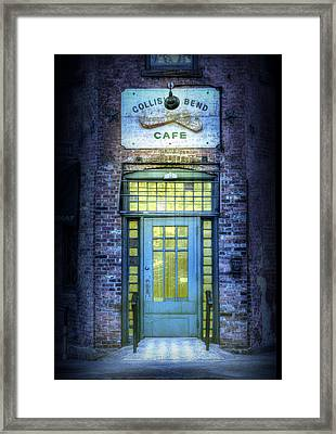 Collision Bend Cafe-cleveland Framed Print