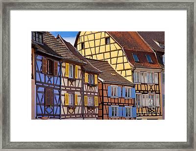 Colmar Alsace Framed Print by Brian Jannsen