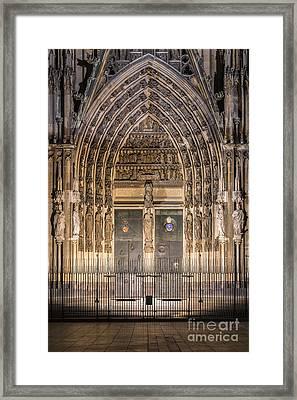 Cologne 14 Framed Print by Tom Uhlenberg