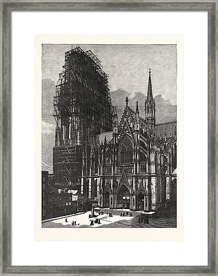 Cologne Cathedral, Finished After Six Centuries Framed Print
