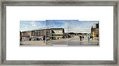 Cologne Central Train Station - Koln Hauptbahnhof - 01 Framed Print by Gregory Dyer