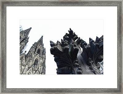 Cologne Germany - High Cathedral Of St. Peter - 09 Framed Print by Gregory Dyer