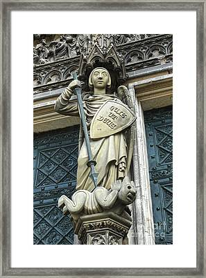 Cologne Germany - High Cathedral Of St. Peter - 10 Framed Print by Gregory Dyer