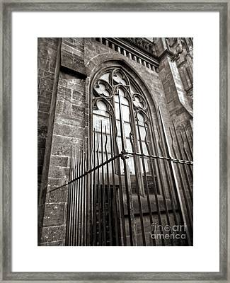 Cologne Germany - High Cathedral Of St. Peter - 14 Framed Print by Gregory Dyer