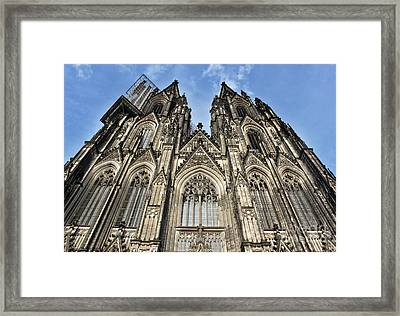 Cologne Germany - High Cathedral Of St. Peter - 16 Framed Print by Gregory Dyer