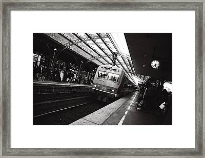 Cologne Trainstation Framed Print