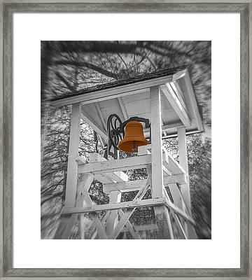 Coloma Church Bell Framed Print