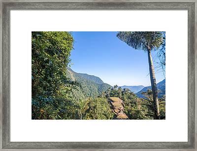 Colombia's Lost City Framed Print by Jess Kraft